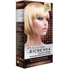 Richenna 11L Крем-краска для волос с хной (Bleaching Blonde), Оттенок: 11L (Bleaching Blonde), image