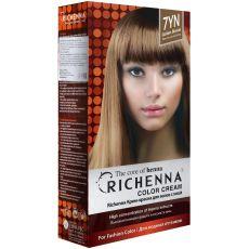Richenna 7YN Крем-краска для волос с хной (Golden Blonde), Оттенок: 7YN (Golden Blonde), фото